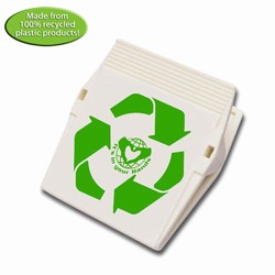 rh052-01 - Recycling Magnetic Medium Clip, Recycling Incentive, Recycling Promotional Ideas, Recycling Promo Gifts, Recycling Gifts for Tradeshows, recycling ad specialties