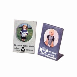 rh020 - Recycling Handout Picture Frame, Recycling Incentive, Recycling Promotional Ideas, Recycling Promo Gifts, Recycling Gifts for Tradeshows, recycling ad specialties