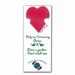 rh025 - Recycling Handout Seed Bookmark, Recycling Incentive, Recycling Promotional Ideas, Recycling Promo Gifts, Recycling Gifts for Tradeshows, recycling ad specialties