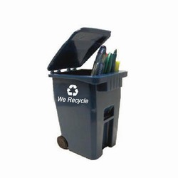 rh034 - Recycling Handout Mini Cart, Recycling Incentive, Recycling Promotional Ideas, Recycling Promo Gifts, Recycling Gifts for Tradeshows, recycling ad specialties