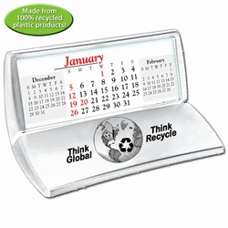"rh052-08 - Recycling Desk Calendar w/pad 5"" x 5.25"", Recycling Incentive, Recycling Promotional Ideas, Recycling Promo Gifts, Recycling Gifts for Tradeshows, recycling ad specialties"