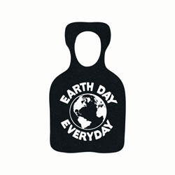 AI-rhdsk146 - Earth Day Recycled Rubber Bottle Opener, Recycling Incentive, Recycling Promotional Ideas, Recycling Promo Gifts, Recycling Gifts for Tradeshows, recycling ad specialties