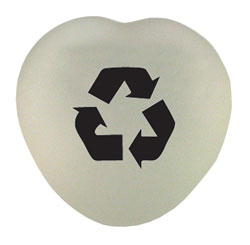 rh036-02 - Recycling Recycled Paperweight, Recycling Incentive, Recycling Promotional Ideas, Recycling Promo Gifts, Recycling Gifts for Tradeshows, recycling ad specialties