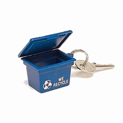 rh029 - Recycling Handout Key Chain, Recycling Incentive, Recycling Promotional Ideas, Recycling Promo Gifts, Recycling Gifts for Tradeshows, recycling ad specialties