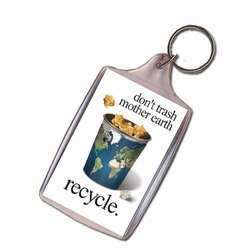 rh041-03 - Recycling Handout Key Chain, Recycling Incentive, Recycling Promotional Ideas, Recycling Promo Gifts, Recycling Gifts for Tradeshows, recycling ad specialties