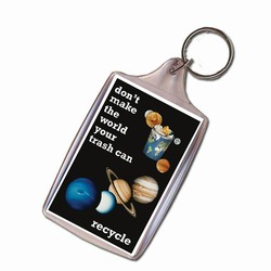 rh041-05 - Recycling Handout Key Chain, Recycling Incentive, Recycling Promotional Ideas, Recycling Promo Gifts, Recycling Gifts for Tradeshows, recycling ad specialties