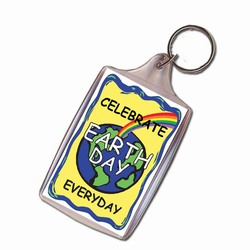 rh041-08 - Recycling Handout Key Chain, Recycling Incentive, Recycling Promotional Ideas, Recycling Promo Gifts, Recycling Gifts for Tradeshows, recycling ad specialties