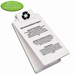 rh052-04 - Recycling Legal size Clipboard, Recycling Incentive, Recycling Promotional Ideas, Recycling Promo Gifts, Recycling Gifts for Tradeshows, recycling ad specialties