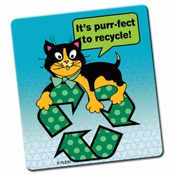 rh002-04 - Recycling Fabric square MOUSEPAD, Recycling Incentive, Recycling Promotional Ideas, Recycling Promo Gifts, Recycling Gifts for Tradeshows, recycling ad specialties