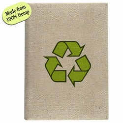 "rh057-01 - Recycling HEMP Mini 3""x4"" Address Book, Recycling Incentive, Recycling Promotional Ideas, Recycling Promo Gifts, Recycling Gifts for Tradeshows, recycling ad specialties"