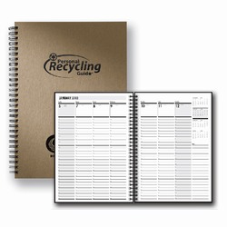 "rh079 - Recycling 7x10"" Weekly Recycling Guide, Recycling Incentive, Recycling Promotional Ideas, Recycling Promo Gifts, Recycling Gifts for Tradeshows, recycling ad specialties"
