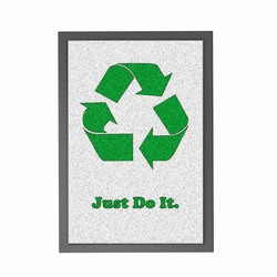 rhrug1 - Recycling Mat, Recycling Incentive, Recycling Promotional Ideas, Recycling Promo Gifts, Recycling Gifts for Tradeshows, recycling ad specialties