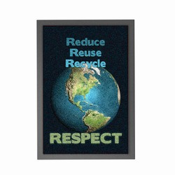 rhrug3 - Recycling Mat, Recycling Incentive, Recycling Promotional Ideas, Recycling Promo Gifts, Recycling Gifts for Tradeshows, recycling ad specialties
