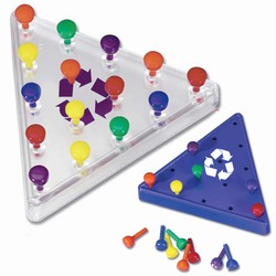 "rh053-03 - Recycling 3- 1/2"" Peg Puzzle  , Recycling Incentive, Recycling Promotional Ideas, Recycling Promo Gifts, Recycling Gifts for Tradeshows, recycling ad specialties"