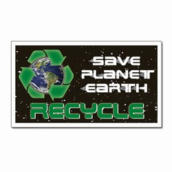 rmag011 - Recycling Handout Magnet, Recycling Incentive, Recycling Promotional Ideas, Recycling Promo Gifts, Recycling Gifts for Tradeshows, recycling ad specialties