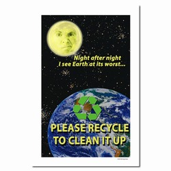 rp109 - Recycling Poster, Recycling placard, recycling sign, recycling memo, recycling post, recycling image, recycling message
