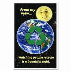 rp110 - Recycling Poster, Recycling placard, recycling sign, recycling memo, recycling post, recycling image, recycling message