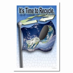 rp157 - Recycling Poster, Recycling placard, recycling sign, recycling memo, recycling post, recycling image, recycling message