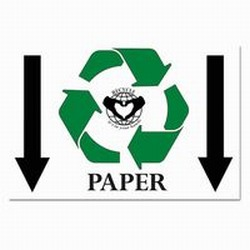 rp164 - Recycling Poster, Recycling placard, recycling sign, recycling memo, recycling post, recycling image, recycling message