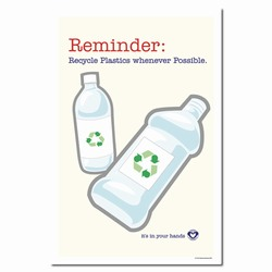 rp179 - Recycling Poster, Recycling placard, recycling sign, recycling memo, recycling post, recycling image, recycling message