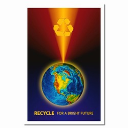 rp187 - Recycling Poster, Recycling placard, recycling sign, recycling memo, recycling post, recycling image, recycling message