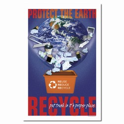 rp191 - Recycling Poster, Recycling placard, recycling sign, recycling memo, recycling post, recycling image, recycling message
