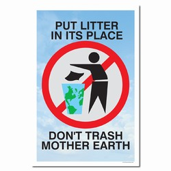 rp221 - Recycling Poster, Recycling placard, recycling sign, recycling memo, recycling post, recycling image, recycling message