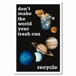 rp222 - Recycling Poster, Recycling placard, recycling sign, recycling memo, recycling post, recycling image, recycling message