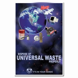 rp236 - Recycling Poster, Recycling placard, recycling sign, recycling memo, recycling post, recycling image, recycling message