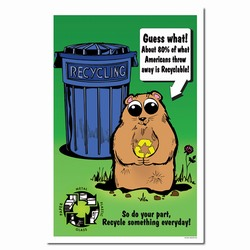 rp254 - Recycling Poster, Recycling placard, recycling sign, recycling memo, recycling post, recycling image, recycling message
