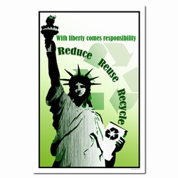 rp256 - Recycling Poster, Recycling placard, recycling sign, recycling memo, recycling post, recycling image, recycling message