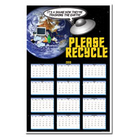 AI-rp265 Recycling Calendar Poster