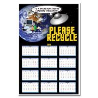 AI-rp265 Recycling Calendar Poster
