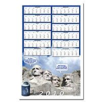 AI-rp267 Recycling Calendar Poster