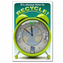 rp327- Recycling Poster, Recycling placard, recycling sign, recycling memo, recycling post, recycling image, recycling message