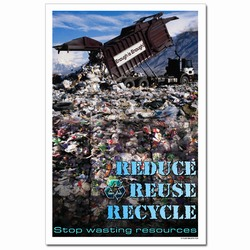 rp328- Recycling Poster, Recycling placard, recycling sign, recycling memo, recycling post, recycling image, recycling message