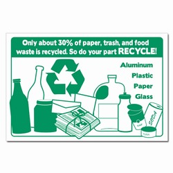 rp351- Recycling Poster, Recycling placard, recycling sign, recycling memo, recycling post, recycling image, recycling message