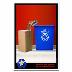 rp414 - Recycling Poster, Recycling placard, recycling sign, recycling memo, recycling post, recycling image, recycling message