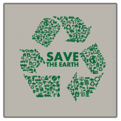 AI-rt17 - Recycle Earth T-shirt, Earth Day Incentive, Earth day Ideas, Earth Day Promo Gifts, Earth Day ad specialties, Earth Day gifts