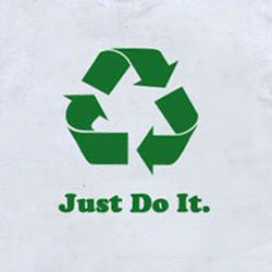 rt259 - Recycling Handout T-shirt, Recycling Incentive, Recycling Promotional Ideas, Recycling Promo Gifts, Recycling Gifts for Tradeshows, recycling ad specialties