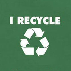 rt263 - Recycling Handout T-shirt, Recycling Incentive, Recycling Promotional Ideas, Recycling Promo Gifts, Recycling Gifts for Tradeshows, recycling ad specialties