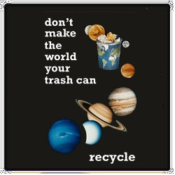 AI-rt41 - Recycle Earth T-shirt, Earth Day Incentive, Earth day Ideas, Earth Day Promo Gifts, Earth Day ad specialties, Earth Day gifts
