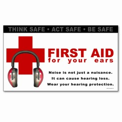 sban001 - Safety Awareness Banner, Safety Notice Poster, Safety Reminder Poster, Safety Placard, Safety Help Poster, Safety Notification Poster