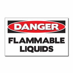 sd007-05 - Vinyl Safety Decal 5&quot;x3&quot; Danger, Safety Sticker, Safety Door Decal, Safety Door Sticker, Safety Label