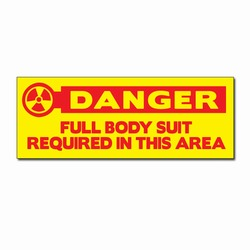 "sd009-01 - Vinyl Safety Decal 8"" x 3"" Danger, Safety Sticker, Safety Door Decal, Safety Door Sticker, Safety Label"