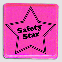 sh001-05 - Safety Awareness 2&quot; REFLECTIVE Star Sticker, Energy Conservation Handouts, Energy Conservation Gift, Energy Conservation Incentive