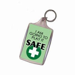 sh025 - Safety Handout Key Chain, Safety Incentive, Safety Gift, Safety Promo Product, Safety Incentive, Safety Ideas, Safety Ad Specialities