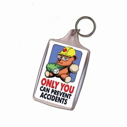 sh025-03 - Safety Handout Key Chain, Safety Incentive, Safety Gift, Safety Promo Product, Safety Incentive, Safety Ideas, Safety Ad Specialities