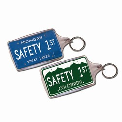 sh028 - Safety Handout Key Chain, Safety Incentive, Safety Gift, Safety Promo Product, Safety Incentive, Safety Ideas, Safety Ad Specialities
