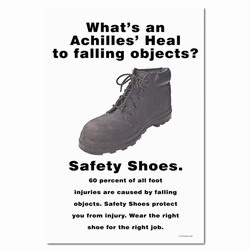 sp111 - Safety Awareness Poster, Safety Notice Poster, Safety Reminder Poster, Safety Placard, Safety Help Poster, Safety Notification Poster